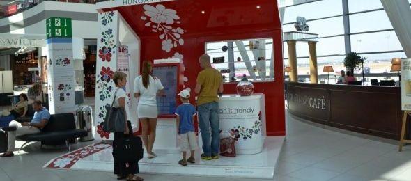 Népszerűek voltak a magyar márkák a repülőtéren
