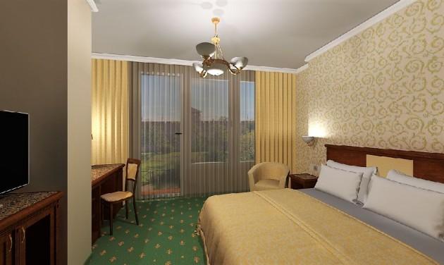 A gyulai várra néző teraszokat kapnak az Elizabeth Hotel szobái