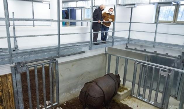 Elkészült az India-ház a Nyíregyházi Állatparkban
