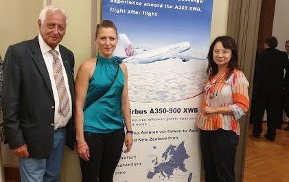 Az olimpiára készül a hatvan éves China Airlines