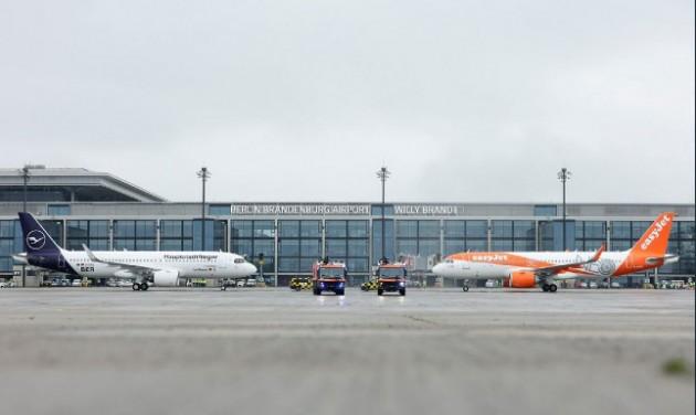 Elindult a forgalom az új berlini repülőtéren