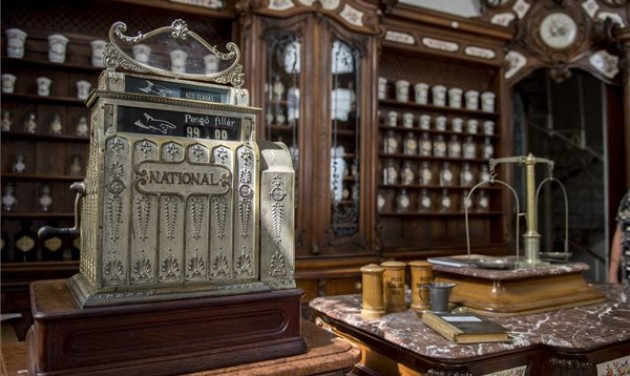 Újra megnyílt Pécs patikamúzeuma