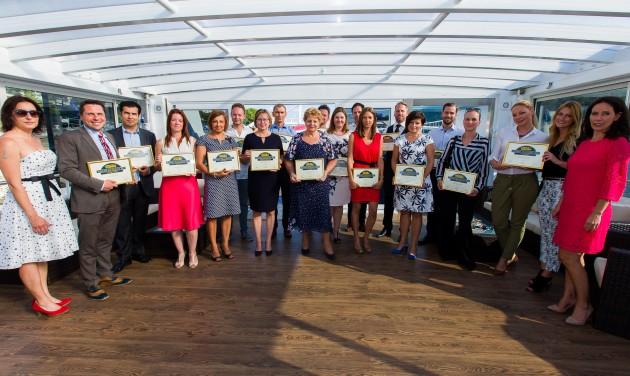 Business Excellence díjátadó képekben
