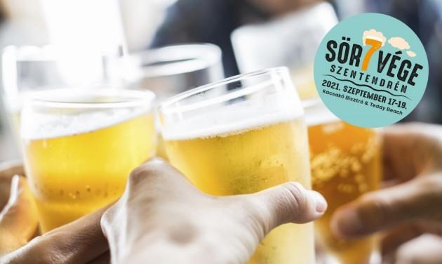 Nyárbúcsúztató sörhétvégét rendeznek Szentendrén