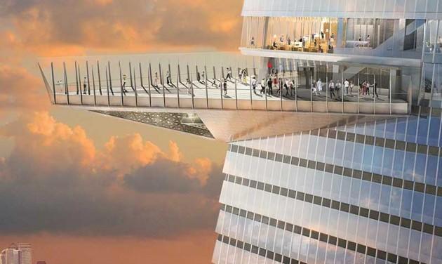 Gigantikus kilátó épül New Yorkban