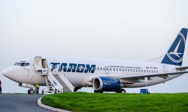 Újra repül Budapestre a Tarom