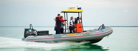 A Hunguest segítségével bővül a balatoni vízimentők flottája