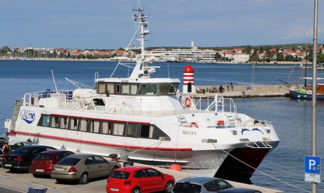 Új gyorshajójárat köti össze a horvát szigeteket