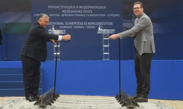 Kezdődik a Szeged-Szabadka-vasútvonal felújítása