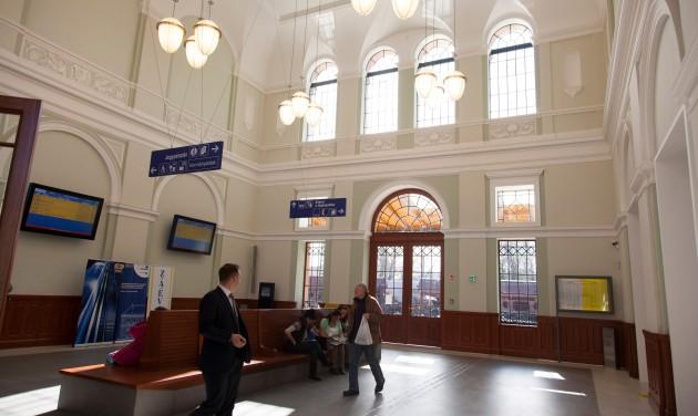 Megújult a kaposvári vasútállomás