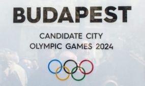 Bemutatták a budapesti olimpiai pályázat emblémáját