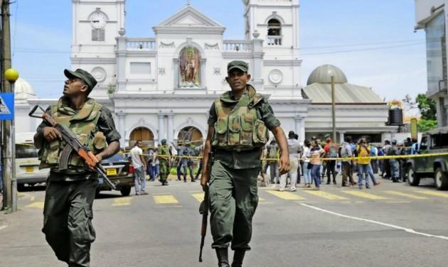Robbantásos merényletek Srí Lankán