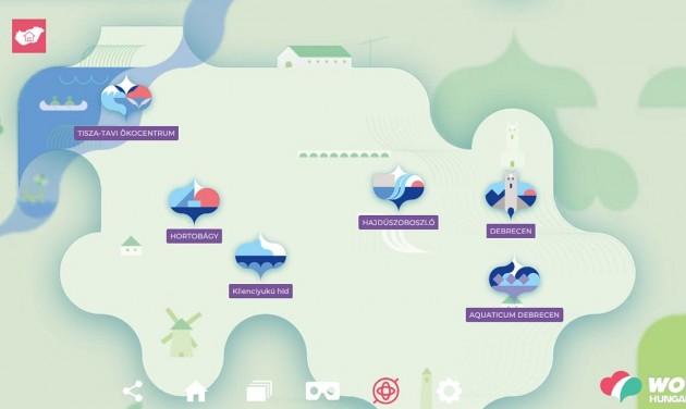 Virtuális országjárásra hív az MTÜ új applikációja
