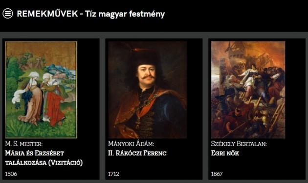 Virtuális kiállítások nyíltak a Magyar Nemzeti Galériában