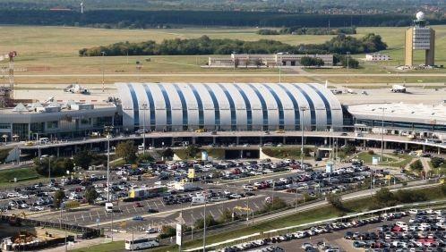 Új körforgalmat építenek a ferihegyi reptér előtt