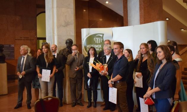 A múzeumi szakma díjátadójával startolt el a Múzeumok Őszi Fesztiválja