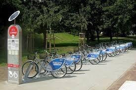 Kerékpáros dömping a lengyel városokban