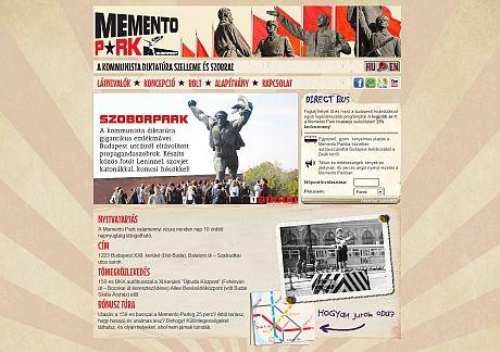 Új weboldal, új funkciókkal a Memento Parknak
