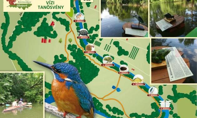 Új vízi tanösvény és kiállítás a Körösvölgyi Állatparkban
