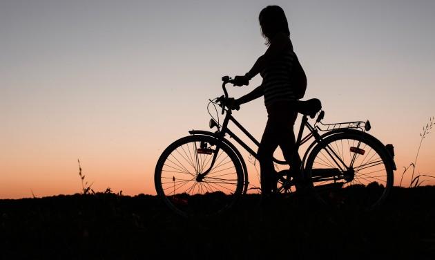 Biciklis rekord a Tisza-tónál