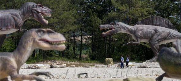 Az ország első dinoszauruszparkja nyílt meg Reziben