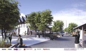 A tervezett határidőre készül el a Széll Kálmán tér