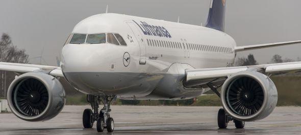 Átvette első első Airbus A320neo repülőgépét a Lufthansa