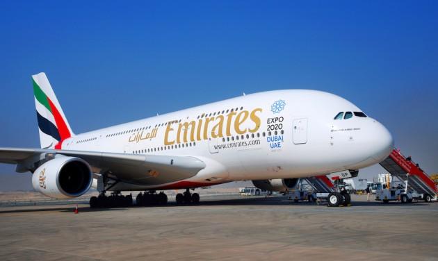Az Emirates átvette 100. A380-as gépét