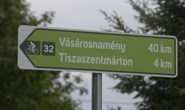 Kerékpárút-hálózat épül ki a Felső-Tisza vidékén