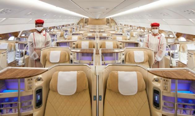 Sétarepüléssel ünnepli az oltási program sikerét az Emirates