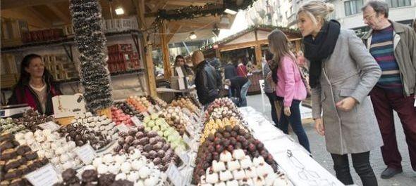 Karácsonyi vásár nyílt a novemberi tavaszban