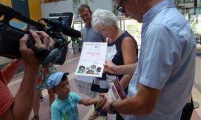 Kétmilliomodik vendégét köszöntötte a Napfényfürdő Aquapolis Szeged