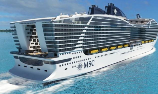 A világ legnagyobb hajója kisvárosnyi utassal