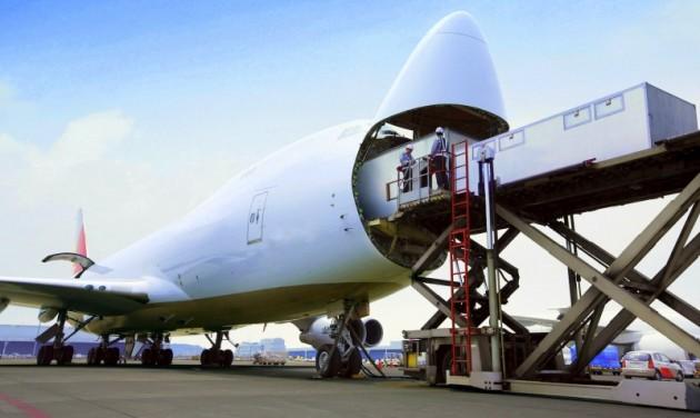 Hétéves csúcson a légi áruforgalom