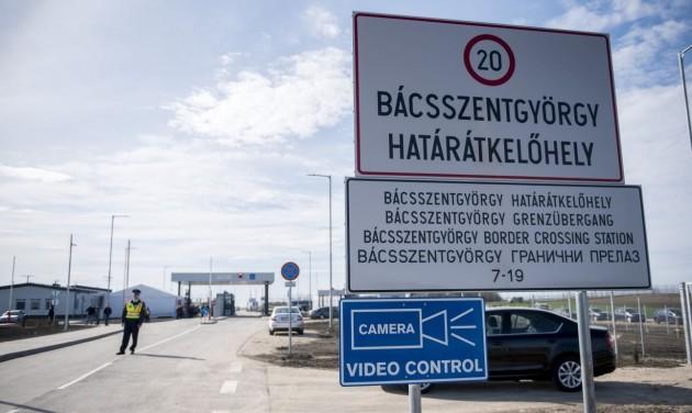 Új magyar-szerb határátkelőhely nyílt