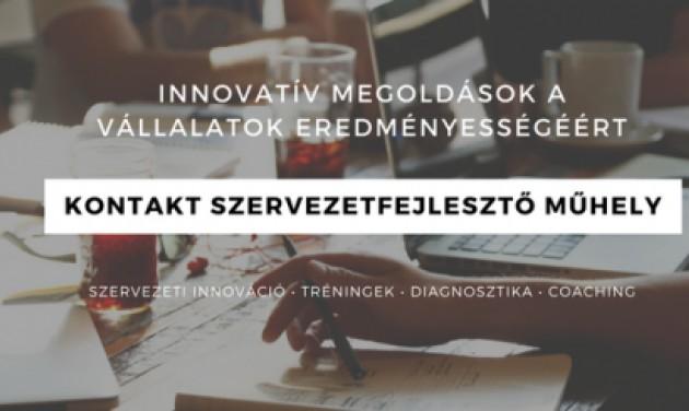 Értékesítési képzés a Kontakt Műhely szervezésében!