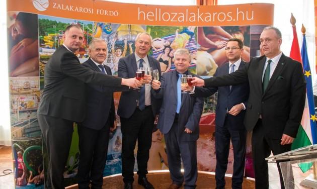Tervek és eredmények: újévköszöntő Zalakaroson