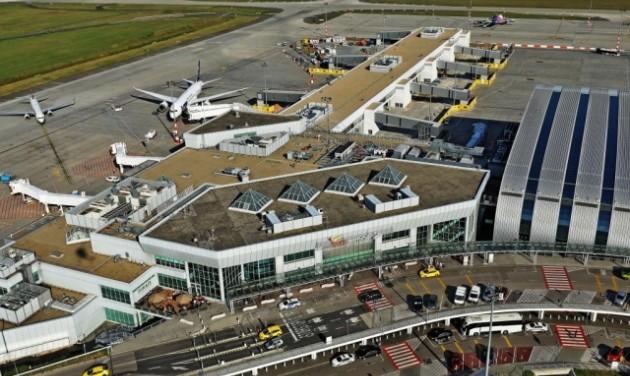 Csökkenő szén-dioxid kibocsátás a repülőtereken