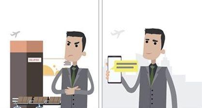 Saját biztosítás az Air France-tól a két órát meghaladó késésekre