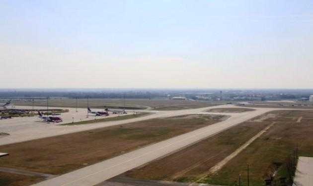 Új gurulóút a repülőtéren
