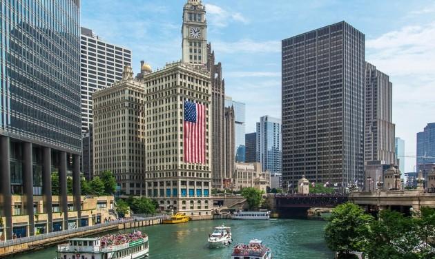 Chicago heti négyszer az American Airlinesszal