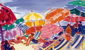 Fürdőélet – Vaszary János strandképei a Balatontól a Riviéráig