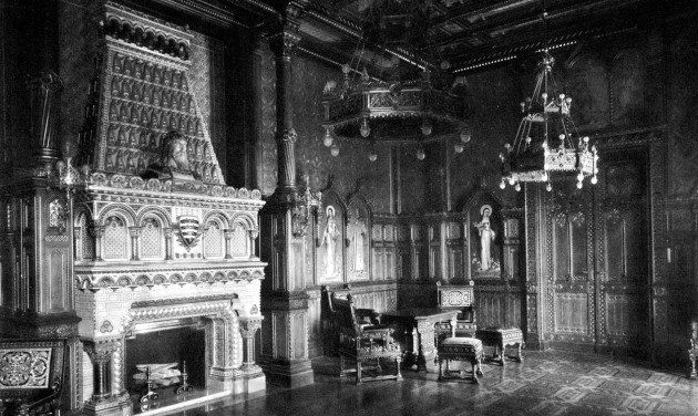 Augusztustól látogatható a helyreállított Szent István-terem a Budavári Palotában