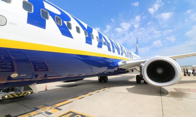 Sztrájk: minden tizedik járatát törölte a Ryanair