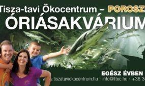 2015-ben több mint 200 ezer látogató a poroszlói Tisza-tavi Ökocentrumban