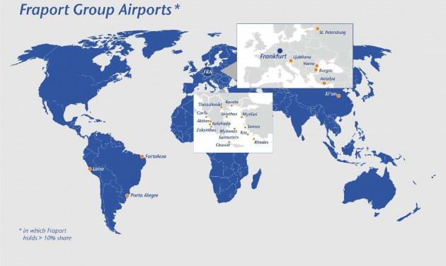 Új rekord: közel 70 millió utas a frankfurti repülőtéren