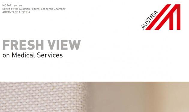 Új online kiadvány az osztrák orvosi szolgáltatókról