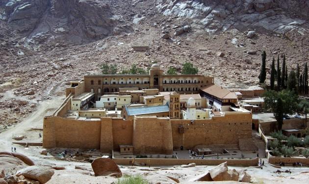 Újra látogatható a Szent Katalin-kolostor csodás könyvtára