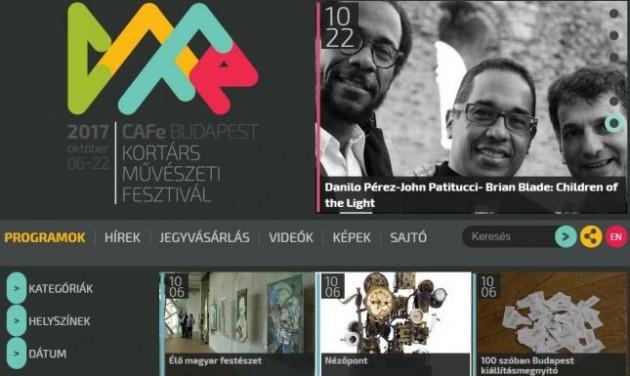 CAFe Budapest – száznál is több programmal