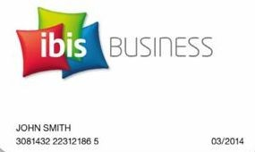 Ibis Business Card üzletembereknek